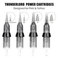 Thunderlord-cartucho de tatuaje para máquina de tatuaje, delineador de aguja, sombreador, maquillaje permanente, 1R 7F