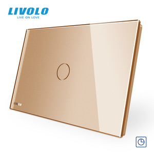 Image 3 - LIVOLO US standard C9 Touch timer switch,30s timer off ,touch Light Switch,Crystal Glass Panel
