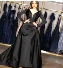 Prom Evening Dresses 2019 Black Formal Party Gala Long Dress Sexy Elegant Women Gown