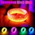 Светящиеся Кольца светящиеся в темные украшения унисекс украшения для Для женщин мужчин A66