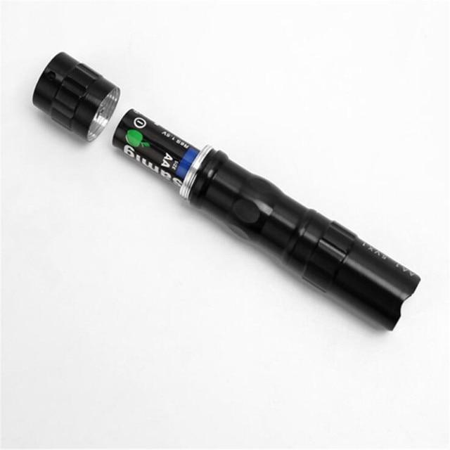 Taşınabilir Mini Led el feneri cep feneri su geçirmez açık seyahat lambası Penlight AA pil güçlü avcılık için Led