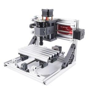 Image 4 - ماكينة التصنيع باستخدام الحاسب الآلي 1610 باستخدام الحاسب الآلي الخشب راوتر آلة الحفر بالليزر 3 محور ثنائي الفينيل متعدد الكلور الاكريليك بولي كلوريد الفينيل جهاز توجيه صغير التحكم GRBL