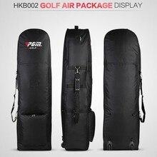 PGM Golf Aviation Bag Waterproof Portable Golf Air Package Padded Golf Bag Foldable Travel Bag Cover with Wheels Bolsa de Golf