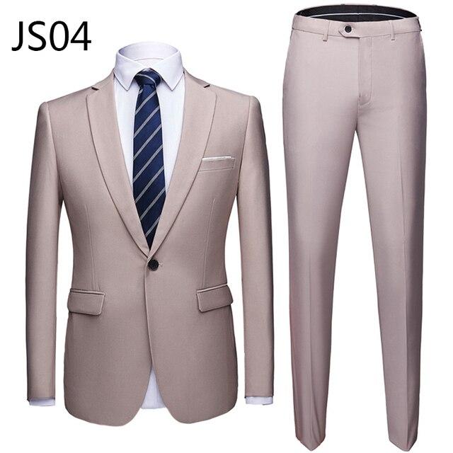 Мужской деловой костюм из 2 предметов фирменный Super Quality 4