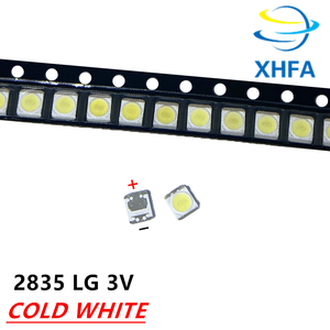 50 шт. для LG 2835 Светодиодный ремонт 32 ЖК-дисплей ТВ 55-дюймовый сенсорный светодиодный задний светильник бусины 3 в 1 Вт 3528 2835 холодный белый Све...