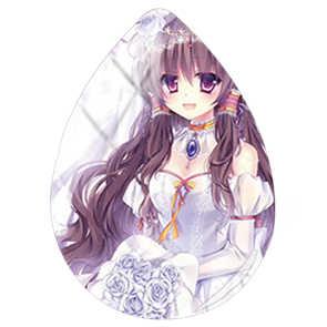 TAFREE קריקטורה חמוד אנימה ילדה תמונה Teardrop צורת תכשיטי ביצוע ממצאי 18x25mm זכוכית קרושון מים טיפות Accessorie