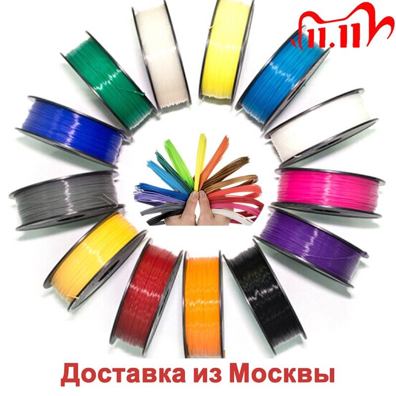 Filament plastic PLA !ABS!HIPS for 3D pen or 3D printer-original YOUSU plastic-many colors 1.75mm 17