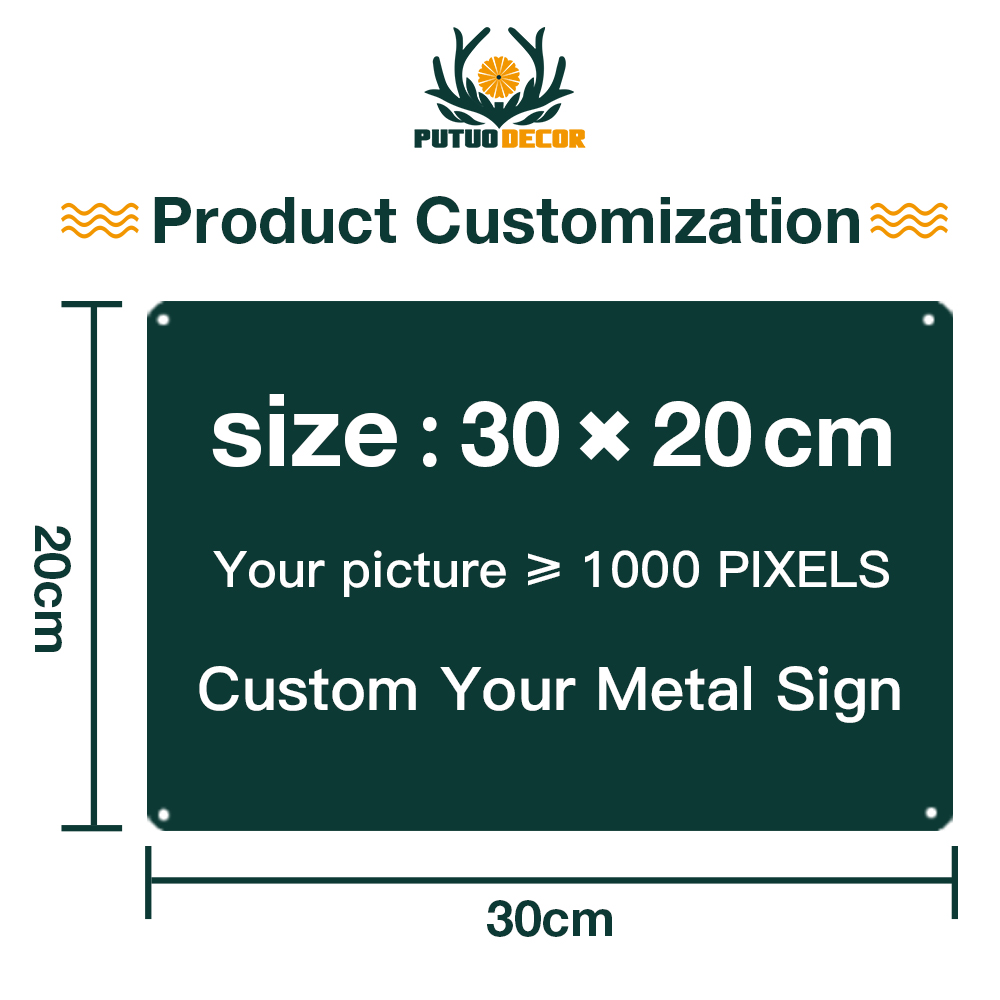 Custom Metal Sign Personalized Tin Sign Plaque Metal Vintage License Plate Home Decor Wall Decor Art Posters Plaques Signs Aliexpress