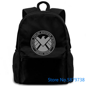 Los agentes de S H que E L D Unisex inspirado en la TV Escudo de superhéroe nuevo para hombre primavera mujeres hombres mochila portátil viaje escuela adulto