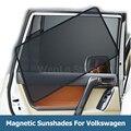 4 шт. магнитное автомобильное боковое окно солнцезащитный чехол для Volkswagen Jetta POLO Bora Gran Lavida Lamando Защита от солнца