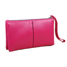 women wallets high quality long wallet woman mobile phone bag fashion hot sell multicolor portable girls