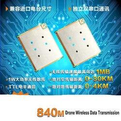 RS232/TTL Data Transmission Station/dual Link Data Transmission Module/data Transmission Station Uav/low Delay