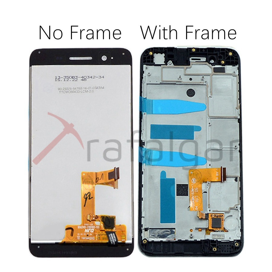 Image 2 - For Huawei P8 Lite Smart LCD Display Touch Screen Digitizer Replace For Huawei P8 Lite Smart LCD With Frame GR3 TAG L01 ScreenMobile Phone LCD Screens   -
