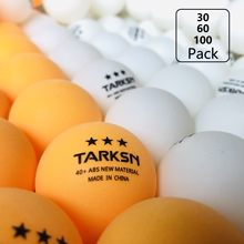 New Material Ping Pong Balls 3 Star 40+ Table Tennis Ball 30 60 100pcs for Professional Training