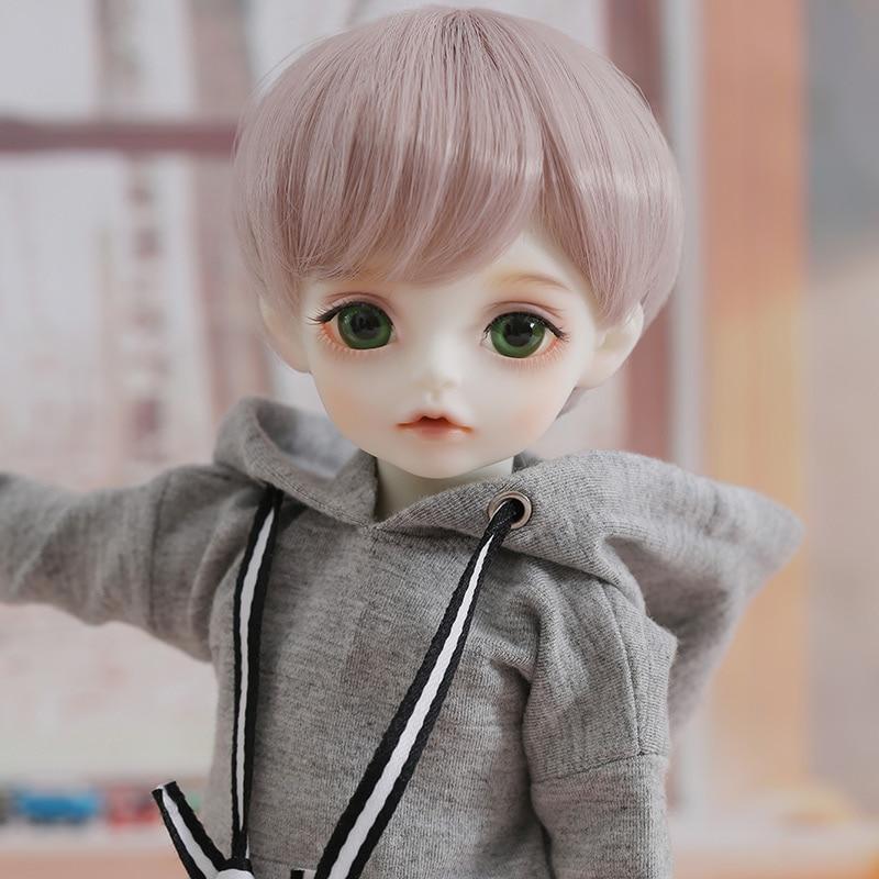 OUENEIFS BJD SD Doll Iris 1/6 Model Baby Girls Boys Doll Toys for Children Friends Surprise Gift for Boys Girls