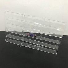 Прозрачный акриловый Органайзер для лака ногтей 460x260x50 мм