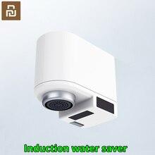 Youpin zajia indução poupança de água inteligente indução infravermelha torneira de água anti overflow cabeça giratória bico de poupança de água da torneira