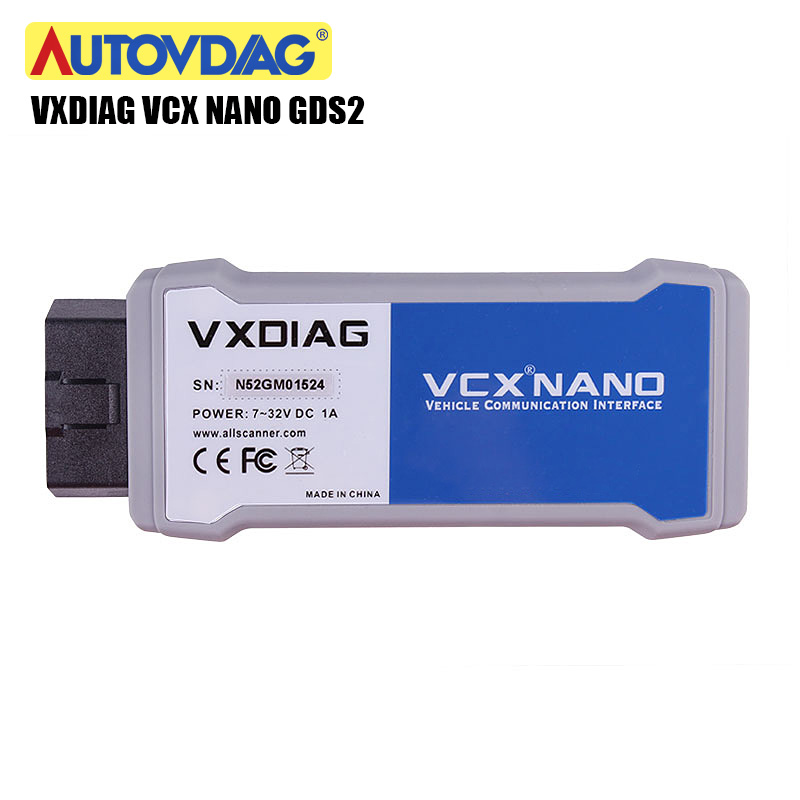 Narzędzie diagnostyczne do samochodów OBD2 VXDIAG VCX NANO dla GM GDS2 wifi usb i TIS2WEB System diagnostyczny/programujący dla GM dla JLR wifi usb
