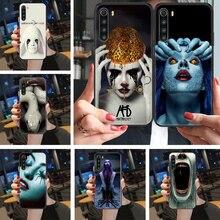 De Historia de terror americano AHS funda de teléfono para Xiaomi Redmi Note 7 7A 8 8T 9 9A 9S 10 K30 Pro Ultra negro 3D shell impermeable suave