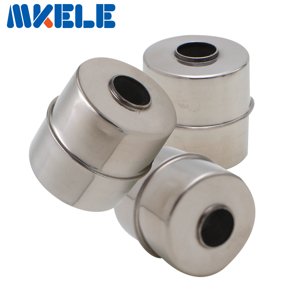 Mk 28 * 28 * 9.5 Stainless Steel Magnetic Float Liquid Level Switch Ball/Floating Ball Accessories Water Flow Sensor
