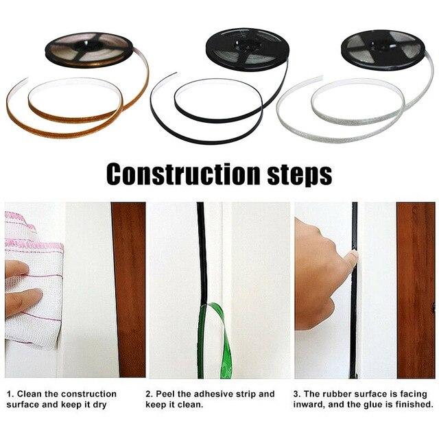 6M 코킹 스트립 테이프 자기 접착 세라믹 타일 갭 스티커 욕실 주방 곰팡이 방지 방수 가장자리 씰링 테이프 홈 장식