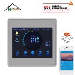 HESSWAY Air System Controller gas analyzer co2 regulator control for fan Ventilator control