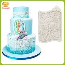 LXYY MOULD Fondant Pearl Mould Cake Cup Cake Decoration Silicone Mould 3 layer fondant cake mould