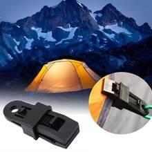 1//5//10//20Pcs Reusable Tent Tarp Tarpaulin Clip Clamp Buckle Camping Tool Heavy