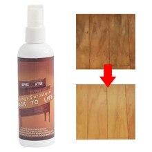 Деревянный пол царапины ремонт моющее средство полировка фиксация Невидимый спрей для удаления ремонт Крашеные деревянные стол кровать очиститель клея# G6