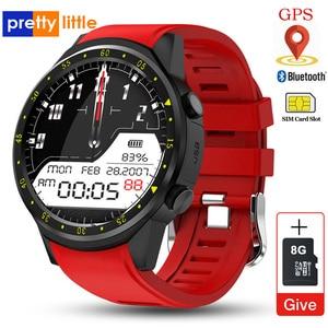 Image 1 - Reloj inteligente deportivo F1 con GPS para hombre, reloj inteligente deportivo con tarjeta SIM, control del ritmo cardíaco y conexión android iOS teléfono móvil