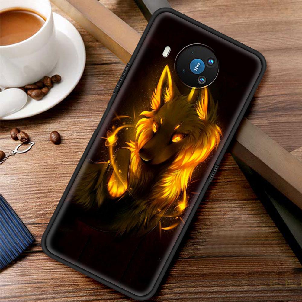 Cartoon Funny Foxs Lovely For Phone Case Nokia 1.3 1.4 2.2 2.3 2.4 3.2 3.4 4.2 5.3 5.4 7.2 8.3 5G C3 C2