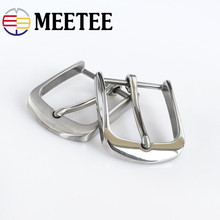 купить 1PC Fashion Solid Stainless Steel Belt Buckles Metal Pin Buckles Belt Head for Mens Jeans 38-40mm Wide Belt DIY Leather Craft онлайн