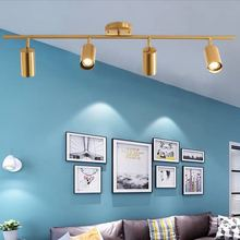 Contemporary creative commercial clothing shop industrial bar hotel wind gallery back wall living room dining room spotlights