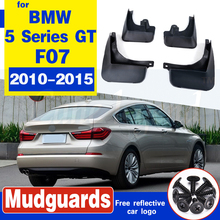 Mud Flaps Splash Guards Fender Mudguard Fit For BMW 5 Series GT F07 2010-2015 4PCS free shipping car splasher mudguard mud flaps splash guards covers fit for bmw x4 1set 4pcs
