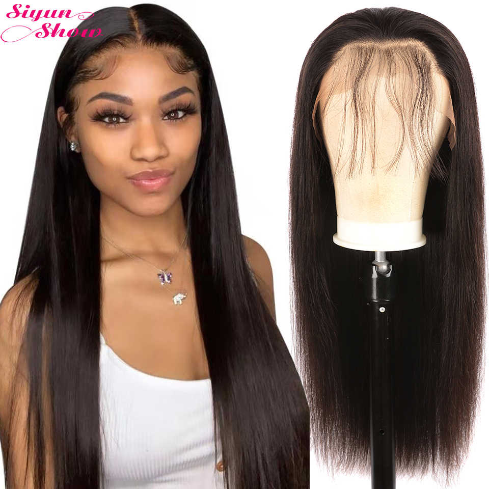 Straight Lace Front Wigs 13X6 Lace Front Wigs Brazilian Lace Front Human Hair Wigs For Women180 Density Remy Human Hair Lace Wig
