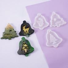 Mold Christmas-Tree 1pc Pendant Crafts-Supplies Jewelry Making-Tools Elk Casting Handmade