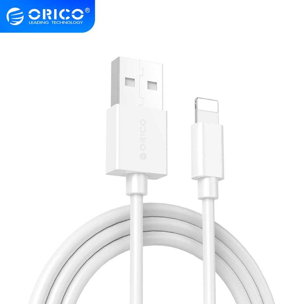 ORICO USB Cable for iPhone Lighting to USB Cable Charging USB Cable Sync for iPhone 6 7 8 1M Data Cable|cable 1m|usb cableusb cable 1m - AliExpress