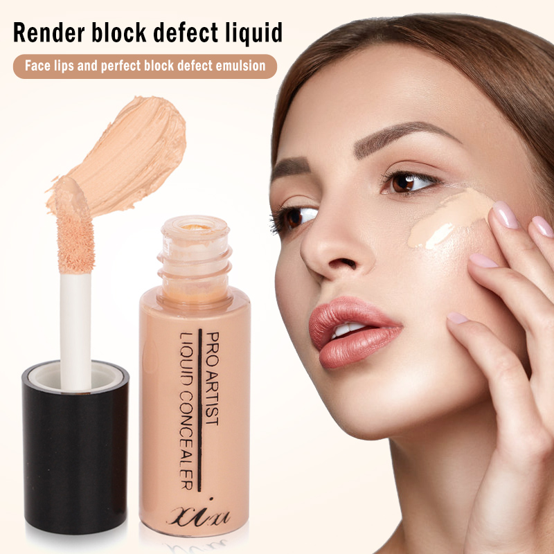 2020 Liquid Concealer Stick Scars Acne Cover Smooth Full Coverage Foundation Makeup Cream Makeup Face Eye Base Cosmetic TSLM1