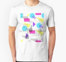 T-Shirt unisexe pour homme et femme, avec imprimé nostalgique audacieux, 90