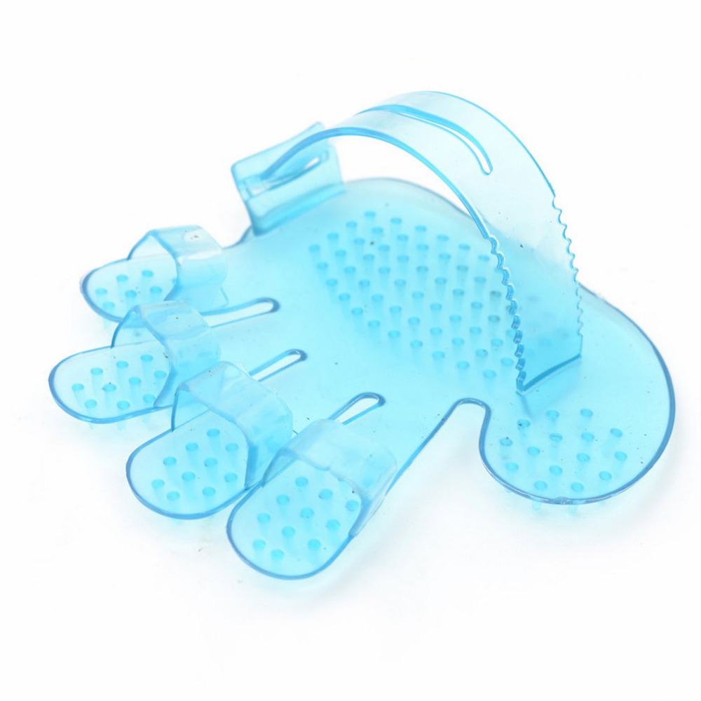 Pet Five Fingers Bath And Massage Brush Pet Toys Practical And Durable