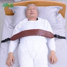Leder zurückhaltung strap bedienen leicht für bettlägerige und rollstuhl patienten firma langlebig und komfortabel strap sicher zu verwenden es