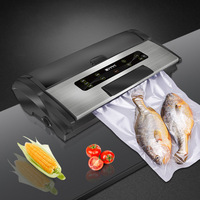 Household Vacuum Sealer Kitchen Automatic Packaging Machine Commercial Fresh Sealing Machine Food Saver Vacuum Packer FW 3150S