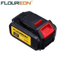Floureon батарея питания 18 в 5000 мАч Замена для DeWalt дрель DCB200 DCB181 DCB182 DCB184 литий-ионная аккумуляторная батарея
