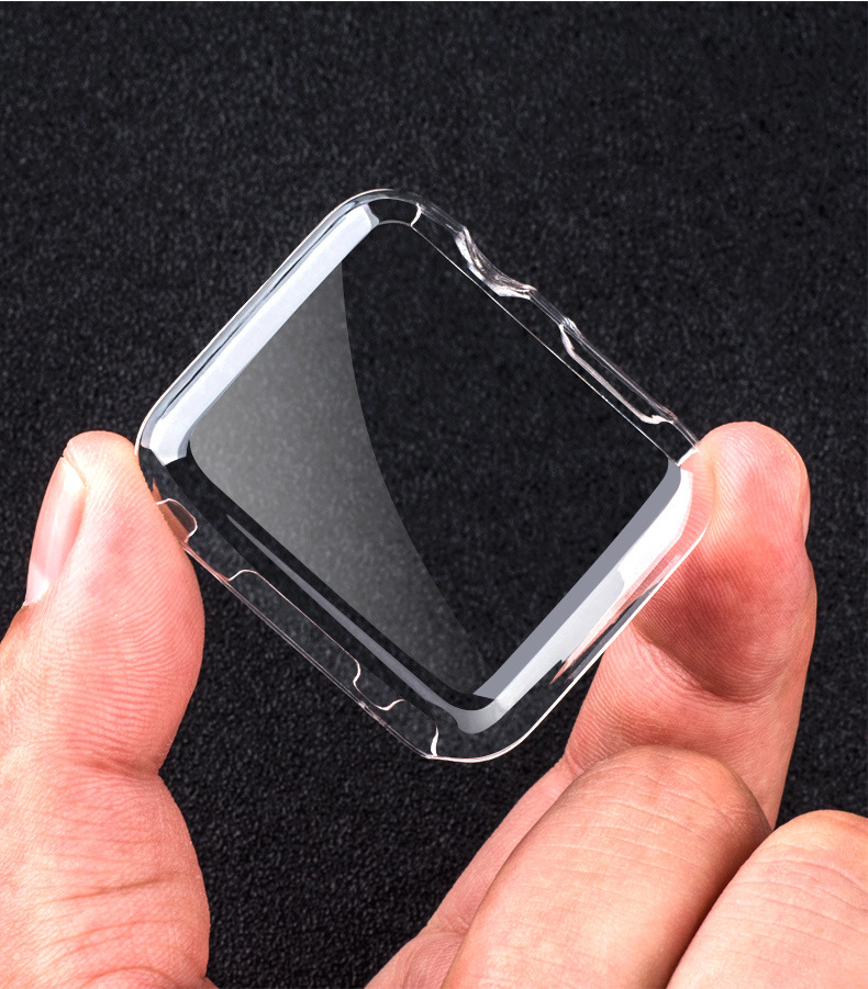 Чехол для Apple watch, чехол 44 мм 40 мм, чехол для iWatch 42 мм 38 мм, бампер из ТПУ, Защита экрана для Apple Watch series 6 5 4 3 SE band
