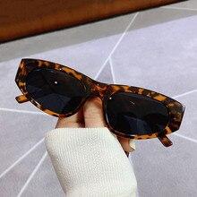 Sexy Katze Auge Kleine Rahmen Vintage Sonnenbrille Marke Designer Frauen Mode Elegante Dreieck Steampunk Sonnenbrille UV400 Oculos