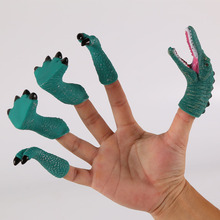 Finger-Toys Dinosaur Sets Soft for Kids Birthday-Gifts Cute Doll Baby Educational Cartoon