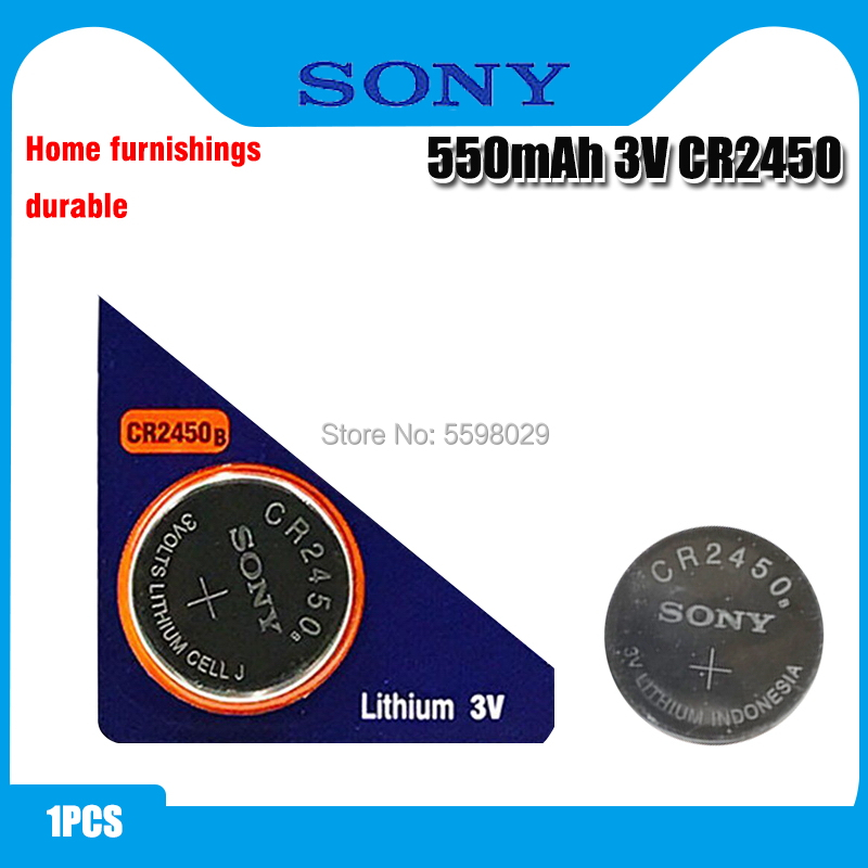 Original Sony CR2450 Button <font><b>Battery</b></font> 5029LC BR2450 BR2450-1W <font><b>CR2450N</b></font> ECR2450 DL2450 KCR2450 LM2450 For Watch Toy Remote image