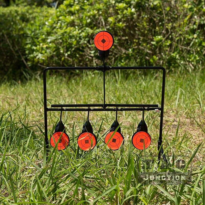 Karabin pneumatyczny resetowanie cel Pellet Gun trening strzelanie RangeTarget. 22. 177 kaliber praktyka metalowy cel na trening wojskowy