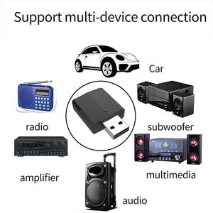 Image 5 - VIKEFON بلوتوث استقبال الارسال بلوتوث ستيريو صغير 5.0 الصوت AUX RCA USB 3.5 مللي متر جاك ل TV PC سيارة عدة محول لاسلكي