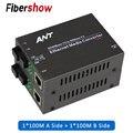 Media converter fiber optische zu rj45 UTP 1310/1550 faser zu ethernet switch faser 10/ 100M Fibra Optica Transceiver
